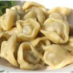 Пельмени с грибами и рыбой – распространенное блюдо старорусской кухни