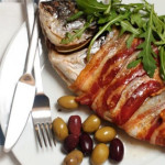Рыба в беконе – отменное блюдо старорусской кухни