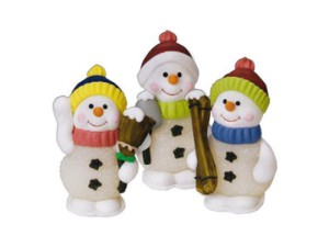 Снеговик из мастики – замечательное украшение новогоднего торта! Видео
