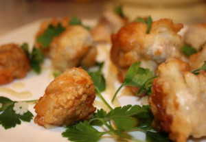 Старорусская кухня – грибы в тесте