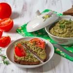 Паштет из кабачков с овощами и грибами