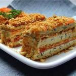 Закусочный торт Наполеон – вкусное праздничное блюдо