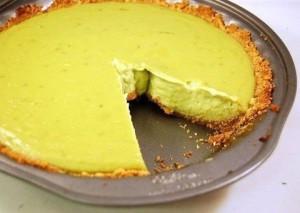 Вкуснейший пирог с авокадо и лаймом