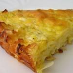 Пирог с капустой быстрого приготовления