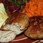 Котлеты из зайца или кролика – старорусская кухня