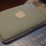 Торт из мастики Ноутбук – мастер-класс