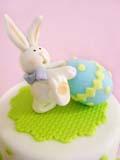 Животные из мастики – как сделать зайца. Мастер-класс