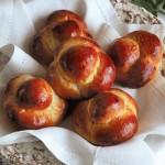 Старорусская кухня, блюдо времен императрицы Екатерины Великой – булочки Бриош