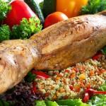 Старорусская кухня – кролик, фаршированный яблоками