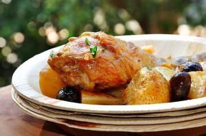 Старорусская кухня – утка тушеная с кореньями