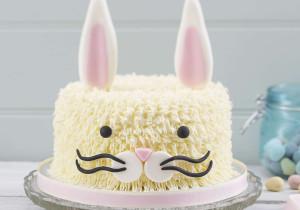 Пасхальное блюдо. Торт Кролик – как украсить? Мастер-класс