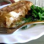 Постное блюдо старорусской кухни – грибной студень