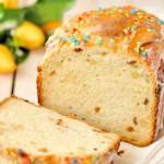 Кулич в хлебопечке —  пасхальная выпечка простого приготовления