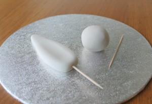 Пасхальное блюдо. Торт Кролик – как украсить? Мастер-класс-шаг 2