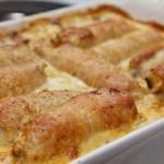 Мясные рулеты с грибами и сыром Моцарелла – отличная закуска!