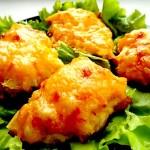 Пряная курица в духовке – с сыром и ананасами