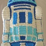 Торт Робот R2-D2 – понравится любому мальчугану!