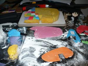 Детский торт Слон -шаг 4