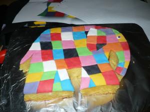 Детский торт Слон - шаг 5