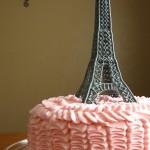 Как украсить торт – Эйфелева башня из айсинга