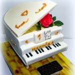 3D торт Фортепиано – музыкально, необычно, вкусно!