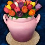 Тюльпаны из мастики – мастер-класс